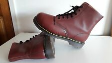 Dr Martens Vintage Steel Size10 oxblood 1888 Airwair 200 Joules Double stiches