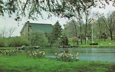 BERNARDSVILLE, NJ  New Jersey    MUNICIPAL BUILDING & MEMORIAL PARK    Postcard
