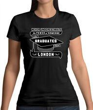 LONDON Graduate - Womens T-Shirt - Uni - Student - Graduation - University