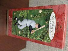 Mickey Mantle collector Hallmark ornament 2001 At the Ballpark series