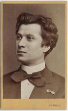 1870er CDV Schauspieler Friedmann, von Szekely