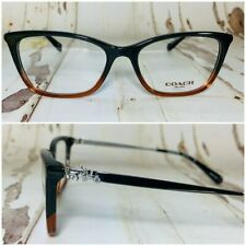 Coach Rectangular Black Eyeglasses Frames NWOT