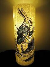 Alice in Wonderland Rabbit Lantern No.130, alice nursery lights, baby shower