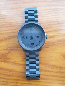 Nixon Corporal Stainless Steel Watch (Men's) - Black