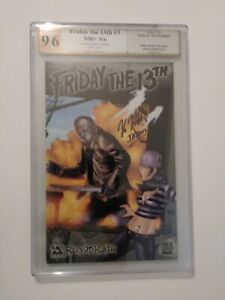 FRIDAY THE 13th # 3  NM+ 9.6  signed by Kane Hodder