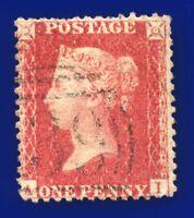 1856 SG30 1d Brick Red C8(2) AI Fine Bromsgrove 139 G/FU CV £45 avya
