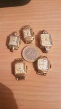 Lot de 5 montres  ART DÉCO ne fonctionnent  pas VENDUES UNIQUEMENT POUR PIÈCES