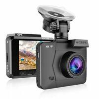 M06 4K Ultra 2160P Wifi Dash Cam Dvrs Car Camera With Gps Night Vision !