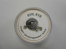 Alex and Ani Evil Eye Ring Wrap Shiny Silver NWTBC