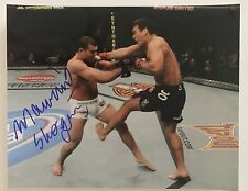 "MAURICIO SHOGUN RUA UFC HAND SIGNED PHOTO 11"" x 14"" AUTOGRAPH"