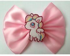 Pastel Pink Pony Cabello Moño fairy Kei Kawaii Sweet Lolita Arco Iris