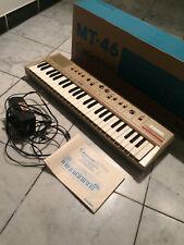CASIO MT-46 Casiotone Keyboard Orgel 80s Vintage Retro Synthesizer OVP Heimorgel