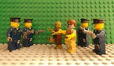 6 LEGO Brand New Mini Figures 4 Policemen With Guns & 2 Zombie Dead Scary Scene
