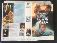 BETRAYAL OF THE DOVE HELEN SLATER BILLY ZANE ROADSHOW RELEASE RARE PAL VHS VIDEO