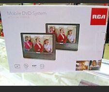 Rca Drc79982 Car 9� Mobile Dvd System w/ Dual Screens-New
