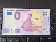 BILLET EURO SOUVENIR PAYS-BAS 2021-2 UIT HET HUWELIJKSJAAR