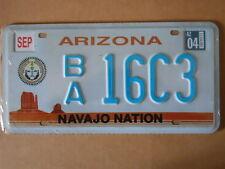 Targa Americana ARIZONA NAVAJO NATION BA 16C3 31x16 cm -Più basso di EBAY