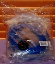 Lot of 10 CAT 5e 10FT Ethernet Network LAN Patch Cable 4PR 24AWG Blue -- NEW