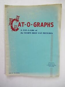Vintage 3 Little Kittens Cat Food Advertising Booklet 1952 Cat-o-graphs Pictures