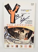 Y The Last Man 3 TPB Vertigo 2004 NM Signed Brian K Vaughan 11 - 17