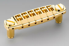 NEW Schaller Signum Locking Wrap Around Bridge Assembly Gold GB-2533-002