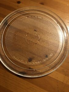 Microwave Plate Diameter 27cm (just over 10.5 inches)