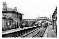 pt0746 - Alne Railway Station , Yorkshire - photograph 6x4