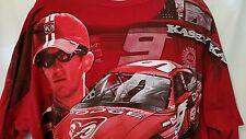 KASEY KAHNE DODGE RACING CAR CHASE AUTHENTIC, RED T-SHIRT, 2XL