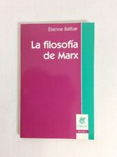 La Filosofia de Marx by Etienne Balibar (PB)- Good  * Spanish Edition