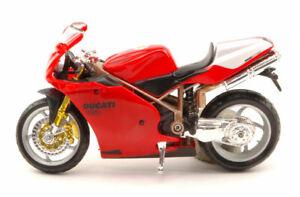 Ducati 998R Red Moto 1:18 Model 51033 Bburago
