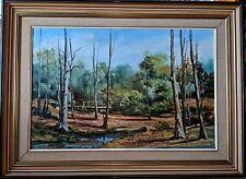 Noeline Millar Large Stunning Original Oil Painting