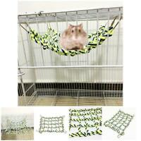 Ferret Small Animal Parrot Climbing Ladder Cotton Rope Cage Hanging Pet Toy