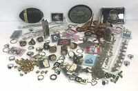 Junk Drawer Jewelry Belt Buckles Beads Chain Rings Lighter Cases Keychains