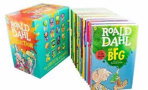 Roald Dahl 16 Books Children Collection Pack Paperback Box Set  (9780241377291)