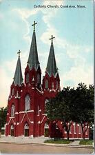 Crookston, Mn Minnesota Catholic Church 1914 Bloom Bros. Postcard
