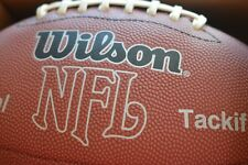 New listing Wilson Nfl Official Size Football Bronze Series Leather Ball New In Box