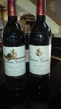 bouteille de vin margaux 2001 chateau Giscours lot de 2 bouteilles