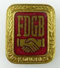 Abzeichen: FDGB Kongresse, vgl. Band IV Nr. 186, 1955 verliehen, Orden1604