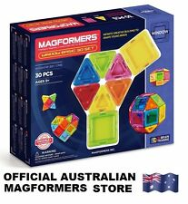 Genuine MAGFORMERS Window 30 Basic Set - 3D Magnetic construction