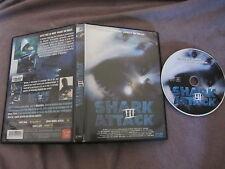 Shark Attack III de David Worth avec John Barrowman, DVD, Horreur
