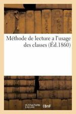 Sciences Sociales: Methode de Lecture a l'Usage des Classes Tenues Par les...