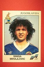 Panini EURO 92 N. 83 JUGOSLAVIJA MIHAJLOVIC NEW WITH BLACK BACK TOP MINT!!