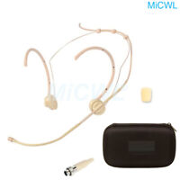 Pro Headset Microphone for MiPro ACT Wireless System Foldable Mic Zipper Bag