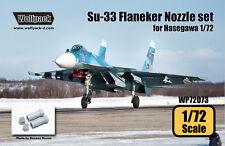 Wolfpack Design 1/72 Su-33 Sea Flanker AL-31F Engine Nozzle Set for Hasegawa
