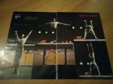 Nadia Comaneci 2 pages pinup clipping from magazine / 42