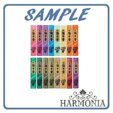 -SAMPLE-  MORNING STAR Incense 16 fragrances One stick of each