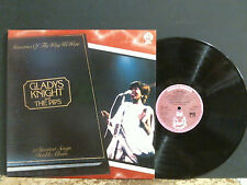 GLADYS NIGHT AND THE PIPS  Memories of The Way We Were  DBL LP    EX !!