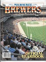1984 Milwaukee Brewers Baseball Yearbook