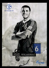 Sead Kolasinac Autogrammkarte FC Schalke 04 2013-14 Original Signiert+ A 108651