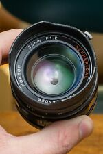 Voigtlander Nokton 35mm f/1.2 Aspherical Lens For Leica or mirrorless